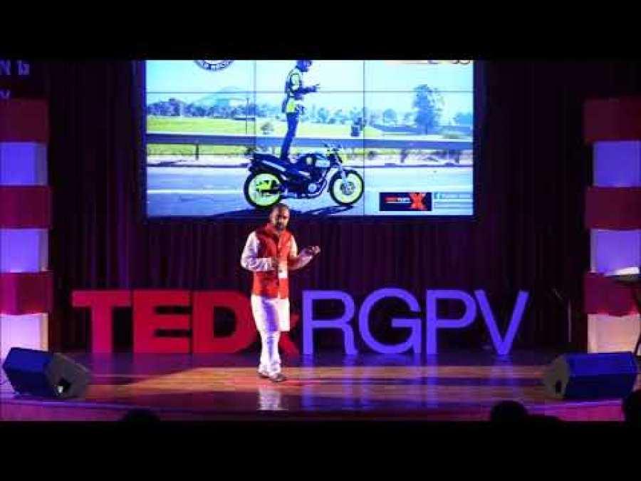 TedX speaker at RGPV