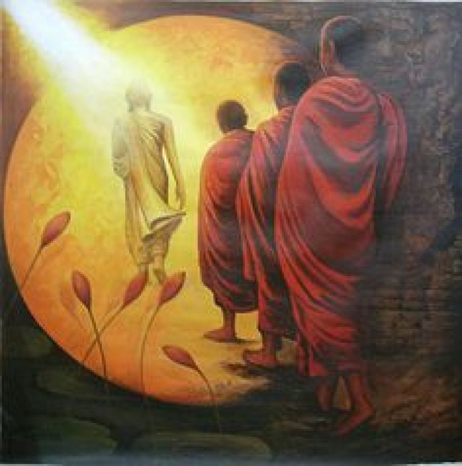 In Search Of Enlightenment And Buddhist Way Of Life