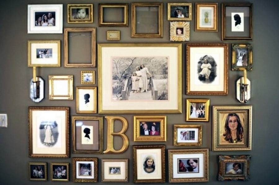 Get the wall framed with memories