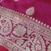 Handwoven Banarasi Katan Pure Silk Saree in Green 6