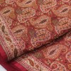 Handwoven Pure Banarasi Dupion Silk Saree in Orange 6