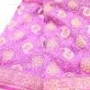 Handwoven Pure Banarasi Jamdani Chiffon Silk Saree in White 6