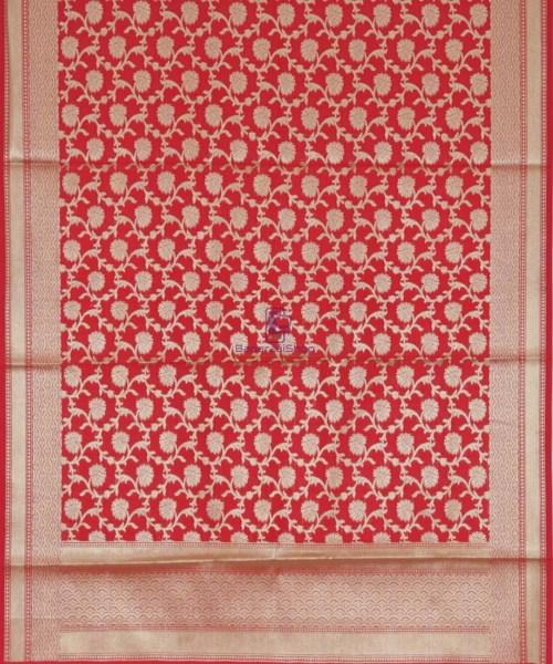 Handloom Banarasi Red Dupatta 5