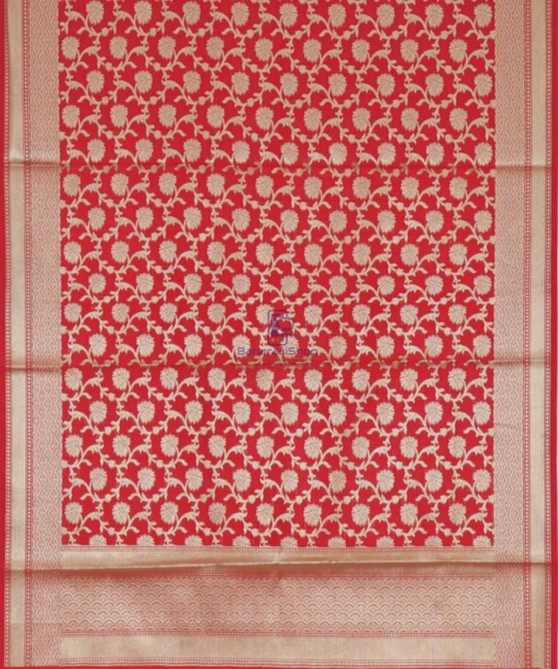 Handloom Banarasi Red Dupatta 3