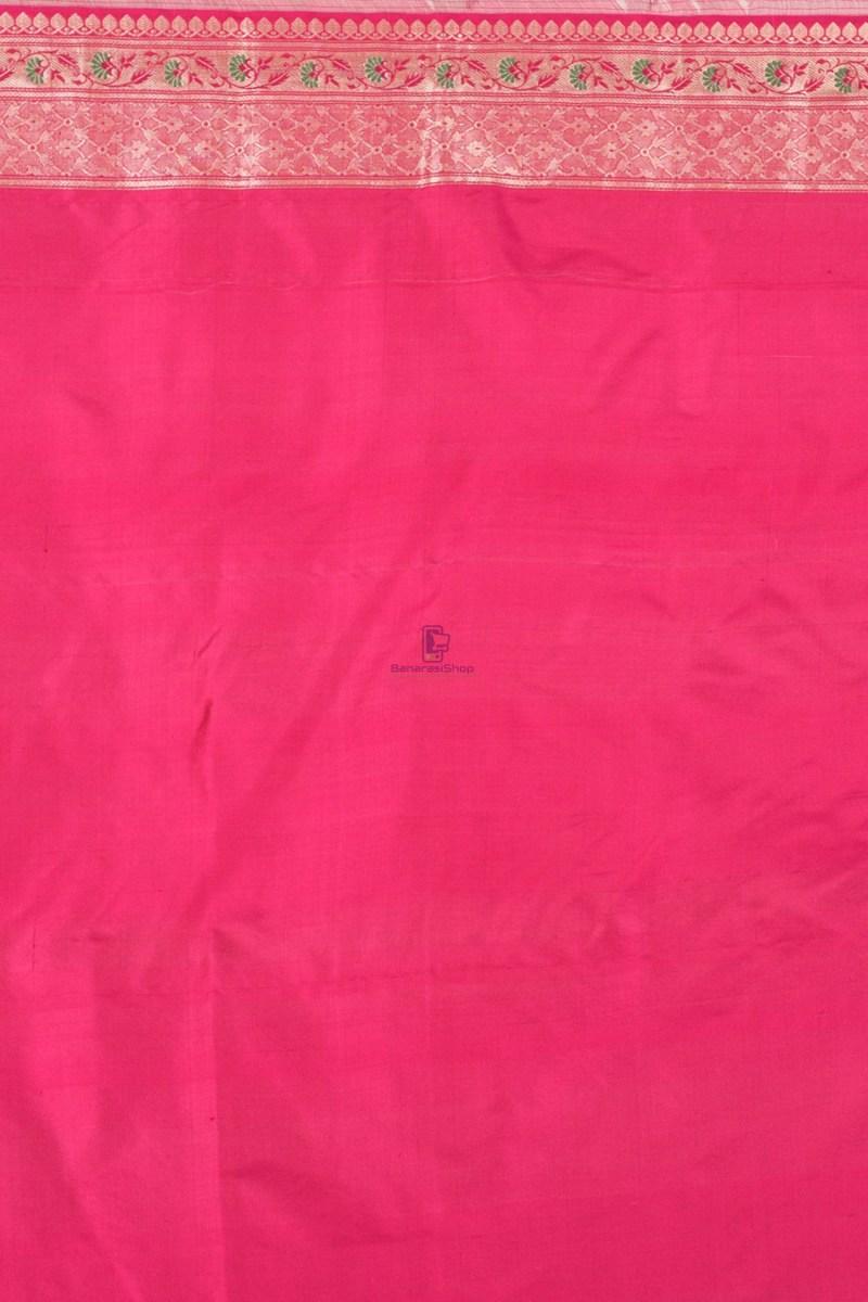Pure Banarasi Katan Silk Handloom Saree 2