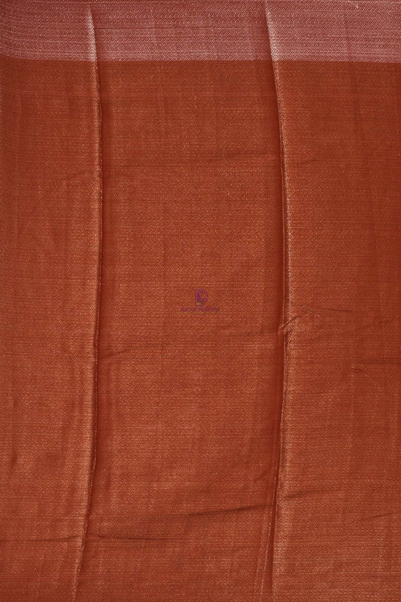 Banarasi Dupion Silk Saree with Unstitched Blouse Fabric 4
