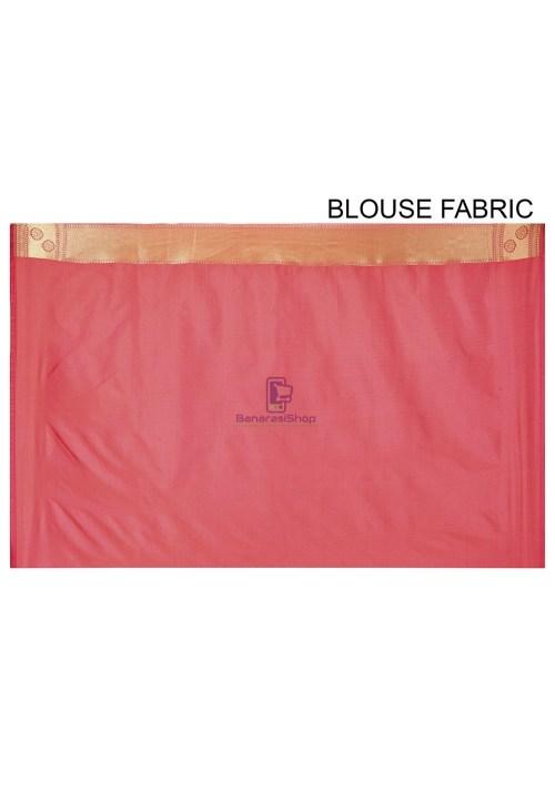 Banarasi Saree in Pink 6