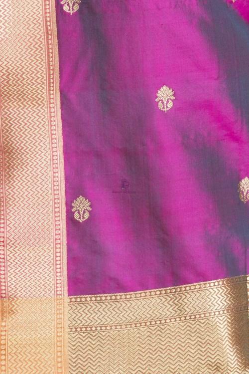 Banarasi Handloom Katan Silk Dupatta 9