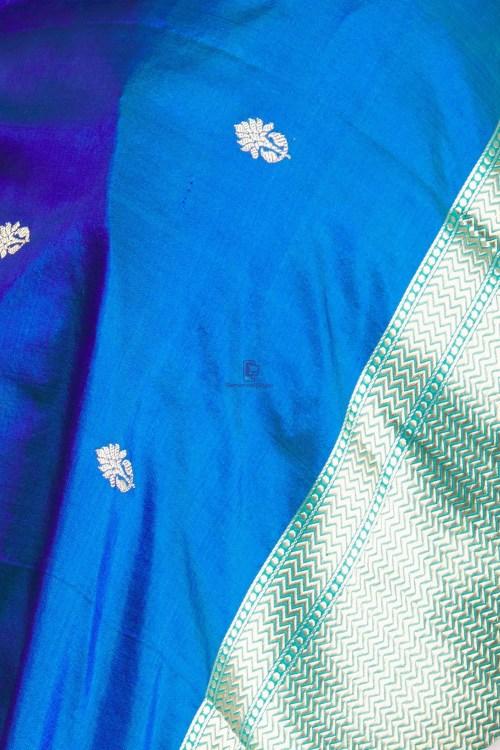 Banarasi Handloom Katan Silk Dupatta 11