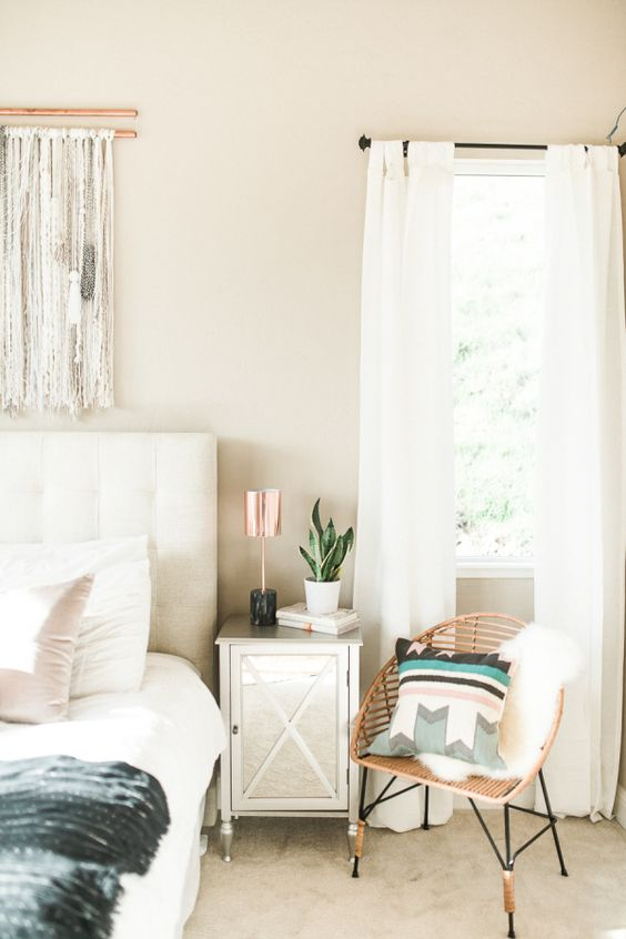 Minimalist Boho Bedrooms That Are Beyond Cute