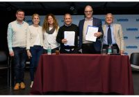 Sergio Palazzo rubricó un Convenio con la UNMDP