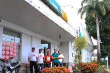 Agência Reduto do Banco da Amazônia em greve