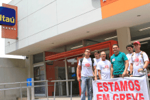 Itaú Icoaraci em greve