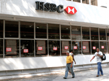 HSBC em greve em Belém