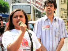 Rosalina Amorim - Os bancos são os culpados pela greve, mas a força da mobilização dos bancários vai derrotar a ganância dos banqueiros
