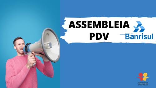 Assembleia PDV