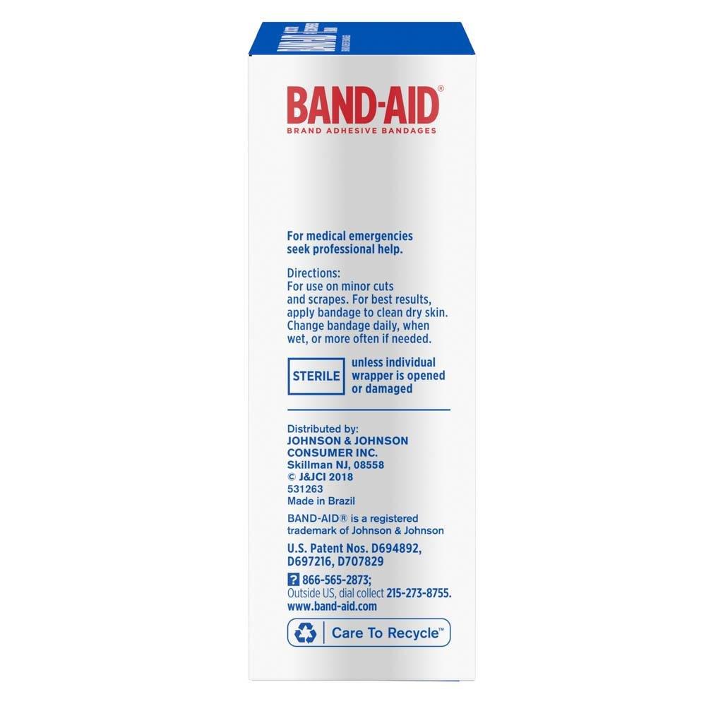 flexible fabric adhesive bandages