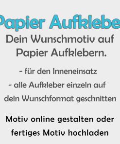 Papier Aufkleber