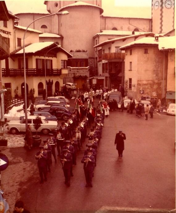 Barzio Processione 1969