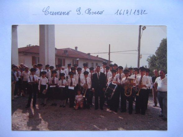 Cremeno - Processione S.Rocco 1982
