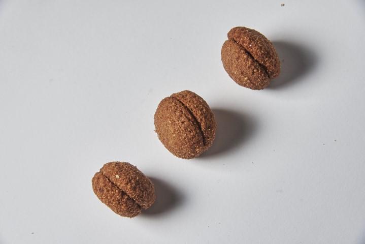 Baci di Dama all'avena e cacao