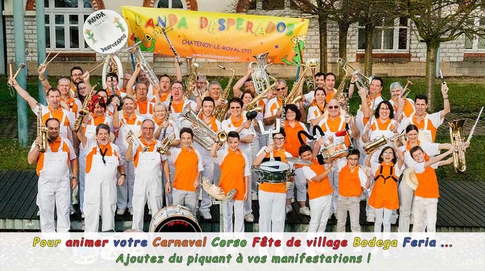 Pour animer votre Carnaval Corso Fête de village Bodega Feria ... Ajoutez du piquant à vos manifestations !