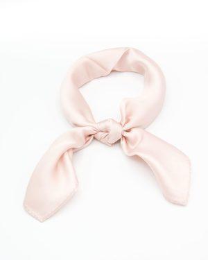 bandana foulard rose