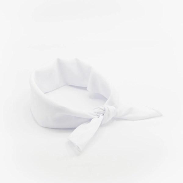 bandana blanc