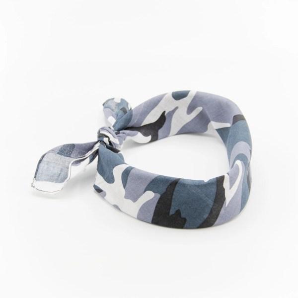 bandana militaire gris pour homme et femme