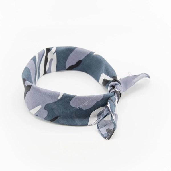 bandana militaire gris