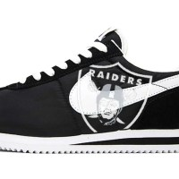 Las Vegas Raiders Custom Nike Cortez Shoes NBW