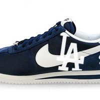 LA Dodgers Custom Nike Cortez Shoes NNW