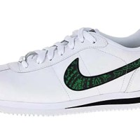 Green Bandana Custom Nike Cortez Shoes Swoosh LWB