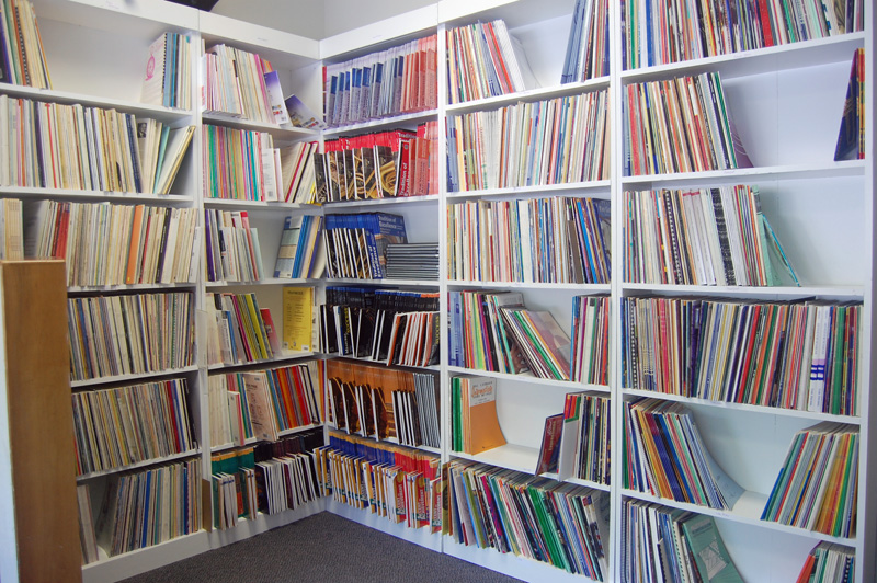 Shelves of Sheet Music