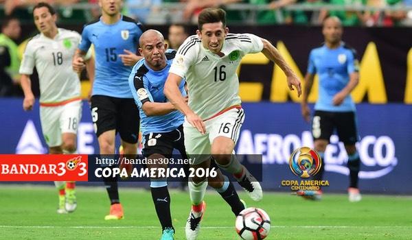 Hector Herrera Meksiko Copa America 2016