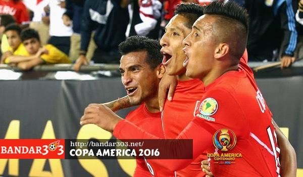 Peru Brazil Copa America 2016