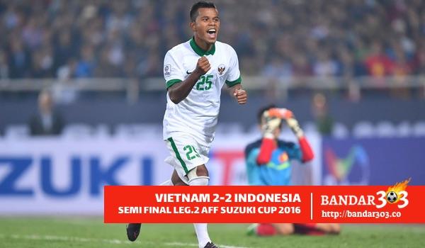 Manahati Lestusen Indonesia AFF Suzuki Cup 2016 Semi Final