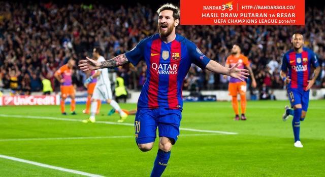UCL 16 besar 2016 Barcelona PSG Bandar Bola Terbaik
