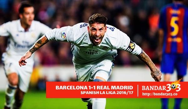 Sergio Ramos Real Madrid La Liga 2016