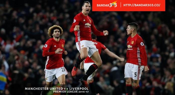 Ibrahimovic Manchester United 1 1 Liverpool EPL 2017