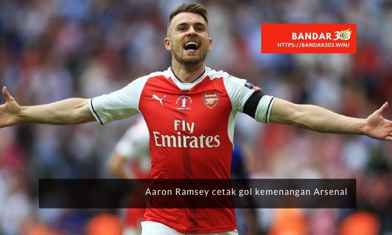Aaron Ramsey gol Arsenal