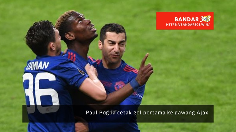 Paul Pogba Gol Ajax