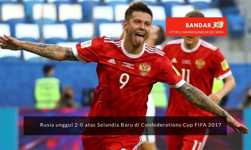 Fedor Smolov Rusia Confederations Cup FIFA