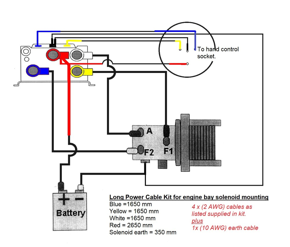 medium resolution of winch solenoid wiring wiring diagram inside 12v wiring help