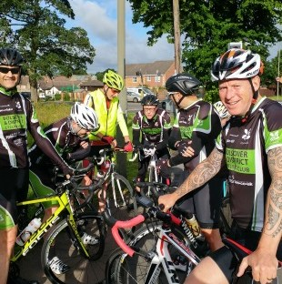 Image of club riders.