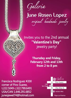 June Rosen Lopez 2nd Annual Valentines Jewelry Party Feb