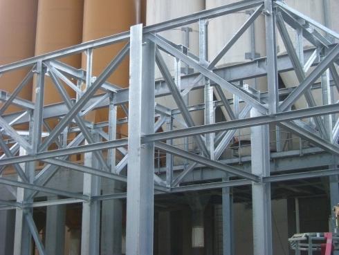 Strutture portanti in acciaio  Parma  Bandini  Cantarelli