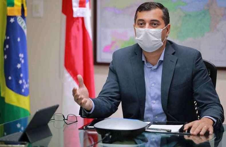 Plano contra 3ª onda, vacinação, relação com o vice e segurança; veja a entrevista com o governador Wilson Lima
