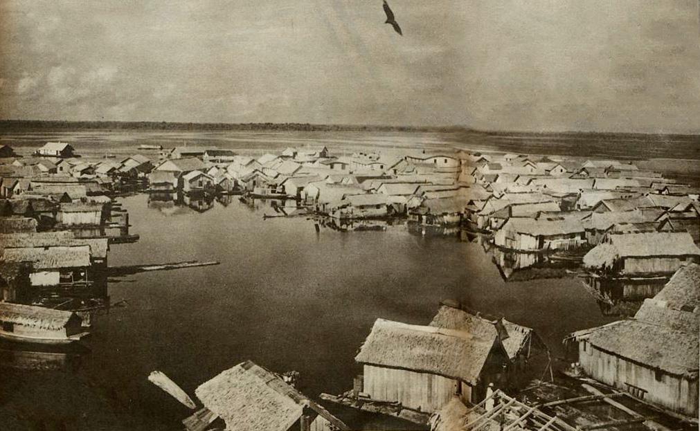 Manaus, cidade flutuante: duas realidades diferentes da cidade que flutuava ao redor da capital