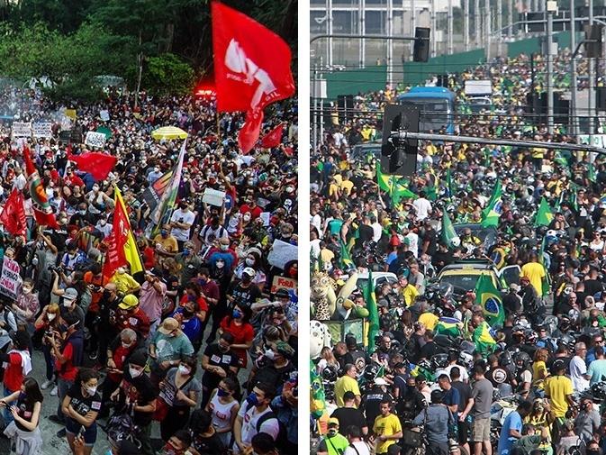 Atos pró e contra o governo federal marcam feriado de 7 de setembro em Manaus